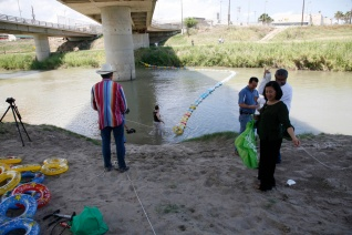 Crossing Over, A Floating Intervention, Brownsville, Texas, 2009